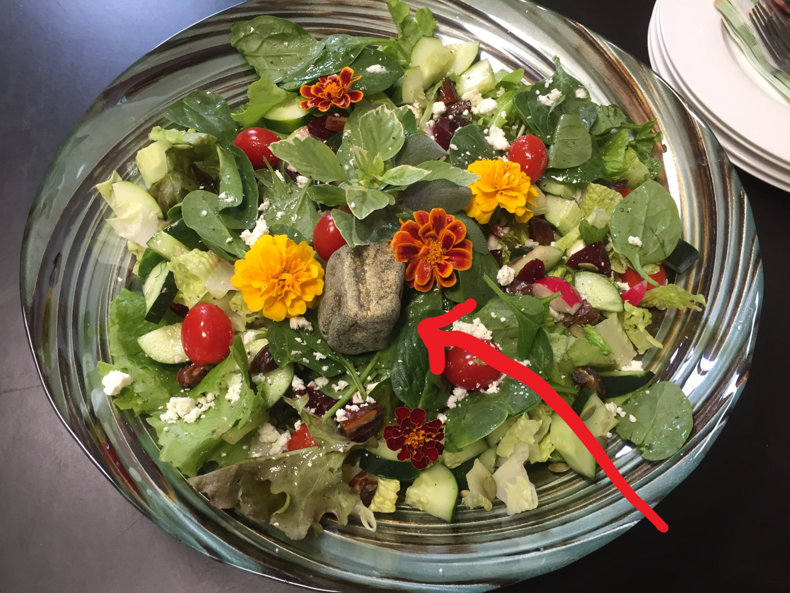 our salads rock at CoWork 414